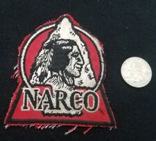 VINTAGE North American REFRACTORIES company NARCO native HAT JACKET PATCH