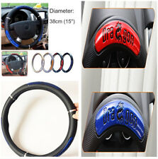 High Quality ,Reflective, Stylish, Non-Slip 38cm Car Truck Steering Wheel Cover