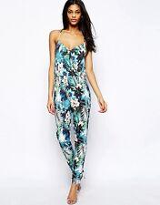 Lipsy London Floral Tropical jumpsuit - Size 12