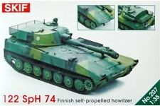 SKIF 207 1/35 122 SpH 74 Finnish Self-Propelled Howitzer
