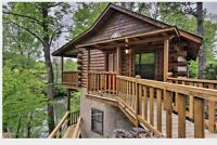 Amazing River View! River Rush- Cozy Riverfront Cabin- 5 Mi to Pigeon Forge
