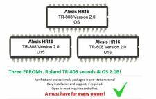 Alesis HR16 / HR16B - Soundchip Upgrade Roland TR-808 V 2 kit incl. Firmware 2.0