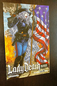 LADY DEATH #6 (Boundless 2011) -- ALTERNATE HISTORY VARIANT -- NM- Or Better
