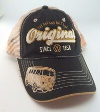 New Volkswagen Original VW Bus Classic Trucker Snapback Cap Hat