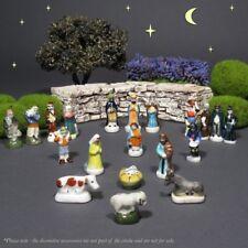 Vintage French Fèves, Provence, Miniature Crèche, Santons, Nativity Figurines 20
