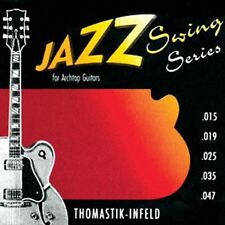 Thomastik Jazz Swing SET. Flatwound. Gauge 0.010