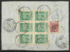 1922 GEORGIA COVER franked from Georgia,Tbilisi to Italy