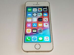 Apple iPhone 5s A1453 16GB Sprint Wireless White/Gold Smartphone/Cell Phone