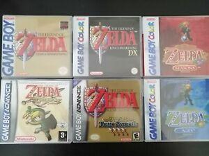 Replacement ArtWork Zelda Links awakening DX Minish Cap oracle of ages seasons