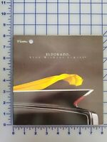 1998 Cadillac Eldorado Brochure Folder Original  1960