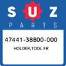 47441-38B00-000 Suzuki Holder,tool fr 4744138B00000, New Genuine OEM Part