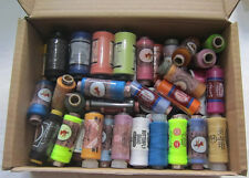 50 Assorted Spools of  High Quality Polyester / Cotton Thread, Clearance Sale