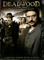 Deadwood - The Complete Second Season (DVD, 2006, 6-Disc Set) New/Sealed