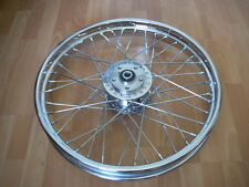 "40 SPOKE 21"" FRONT WHEEL 21 X 2.15 INDIAN SCOUT DELUXE SPRINGFIELD CENTENNIAL"
