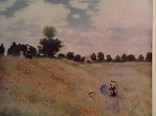 Fields of Poppies By Claude Monet