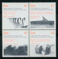 Ireland 2018 MNH Irish Scientific Discoveries Light 4v Block Science Stamps
