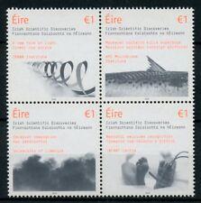 Ireland 2018 MNH Irish Scientific Discoveries Light 4v Block Science Stamps