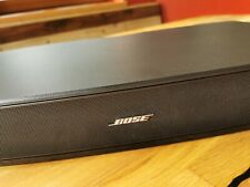 Bose Solo TV Sound System + Oehlbach Kabel