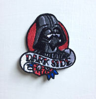 Dark Side Darth Vader Art Badge Iron or sew on Embroidered Patch