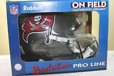 Riddell Revolution GAME STYLE Authentic Football Helmet TAMPA BAY BUCCANEERS new