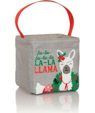 NIP New Thirty One 31 Littles Carry-All Caddy Holiday Llama Christmas