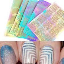 Polish Stamping Manicure Tips Nail Art Tools Vinyls Nail Art Transfer Stickers
