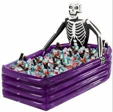 PARTY INFLATABLE COOLER WITH SKELETON - 109CM