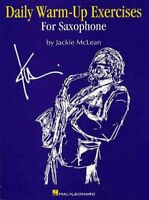 Daily Warm-up Exercises for Saxophone, Paperback by McLean, Jackie (COP), Bra...