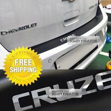 Rear Bumper Protector Decal Sticker Matt Black For CHEVY 2011-15 Cruze Hatchback