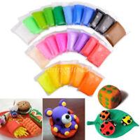 Kids Toy DIY Malleable Fimo Polymer Modelling Soft Clay Blocks Plasticine