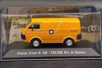 Altaya 1:43 Gurgel Itaipu E400 Telerj Rio De Janeiro Diecast Toy Car Models IXO