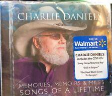 CHARLIE DANIELS Memories, Memoirs & Miles: Songs of a Lifetime EXCLUSIVE CD band