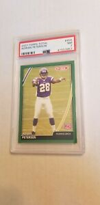 2007 Topps Total Adrian Peterson Rookie Graded PSA 7 Population 1!!!!