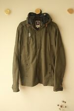 G STAR RAW Denim Halo Recolite Hooded Jacket Size XXL Lined Olive