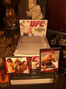 UFC Topps 2010 Box Full Of Cards