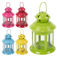 5 Hanging Garden Lantern Holder Lamp Lawn Candle Wedding Christmas Table Outdoor