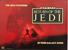 16mm RETURN OF THE JEDI (1983). Beautiful low-fade color SCOPE Feature Film.