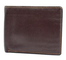 Brooksfield Bifold Mens Leather Wallet Brown