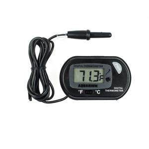 Black LCD Display Digital Fish Aquarium Water Tank Themometer Thermometer Meter
