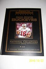 2002 Sports Illustrated OHIO STATE Buckeyes NCAA CHAMPS Commemorative HARDCOVER