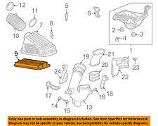 HONDA OEM 03-06 Accord Engine-Air Filter Element 17220RCAA00