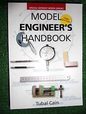 Model Engineer's Handbook engineers book manual Tubal Cain data facts procedures