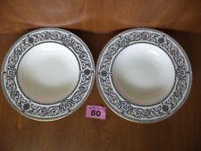 Royal Worcester PADUA - Rare Pair Large 9 inch Rimmed Soup Bowls