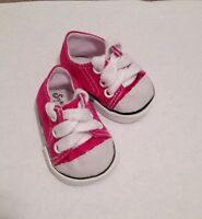 """Sophia/'s Heritage Shoes Fits 18/"""" American Girl Dolls Light Pink Sneakers Colors"""