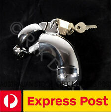 CS3KD Steel detachable end chastity device GENUINE Master Locked Cs03