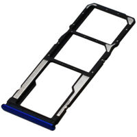 Dual SIM SD Card Tray For Xiaomi Redmi Note 8 Replacement Slot Holder Blue UK