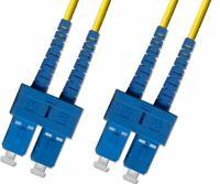 5M (15ft) SC/SC Duplex 9/125 Singlemode Fiber Optic Patch Cable