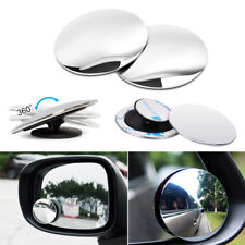 2pcs HD 360° View Car Adjustable Blind Spot Wide Angle Rear Round Mirror #1008A