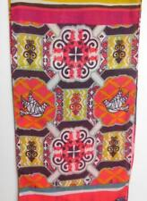 """Long Scarf  Warriors in Pink Powered by Ford 8 x 53"""" Cotton and Poly"""