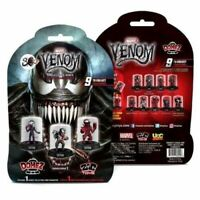 Marvel Domez Venom Collectible Mini's Mystery Pack NEW Collect 9 domes Series 1